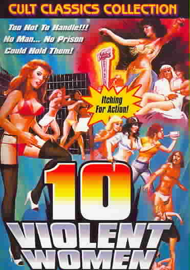 10 VIOLENT WOMEN BY VERNON,SHERRI (DVD)