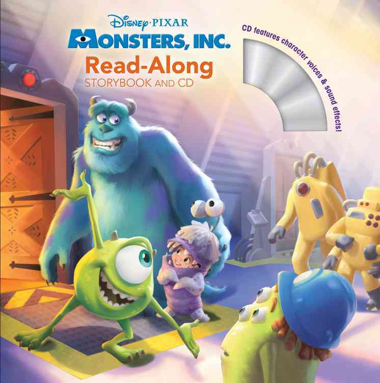 Monsters, Inc. Read-Along Storybook By Disney Book Group (COR)